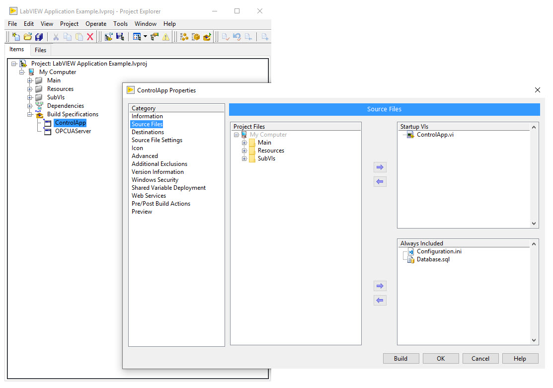 LabVIEW Application Examples